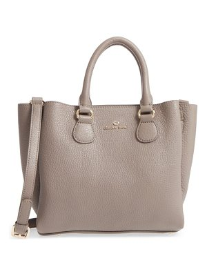 CELINE DION Small Adagio Leather Satchel