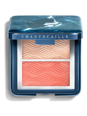 Chantecaille radiance chic cheek highlighter duo
