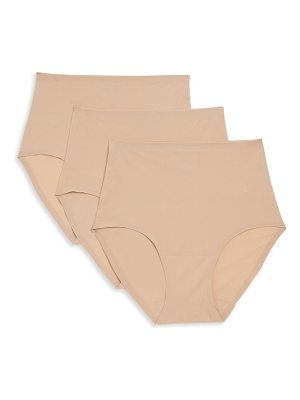 Chantelle three-pack seamless soft-stretch brief panty