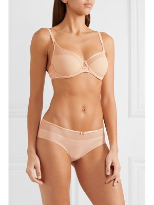 Chantelle aéria stretch-mesh and tulle briefs