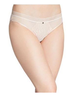 Chantelle Spirit Lace-Front Bikini Briefs