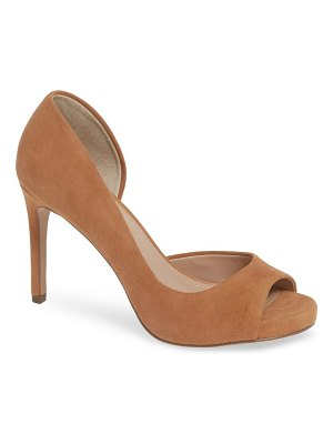 Charles by Charles David chess open toe pump