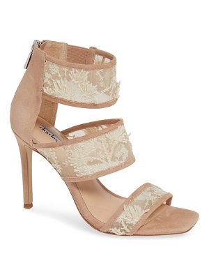 Charles David vania lace & sequin sandal