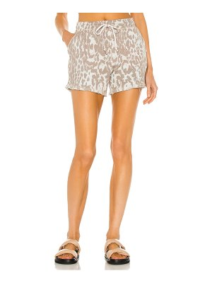 Chaser linen french terry easy shorts