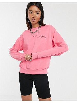 Cheap Monday get sweatshirt with electric logo