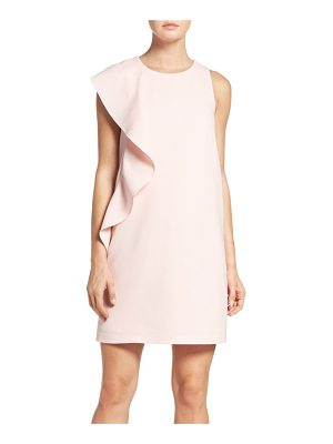 Chelsea28 asymmetrical ruffle shift dress