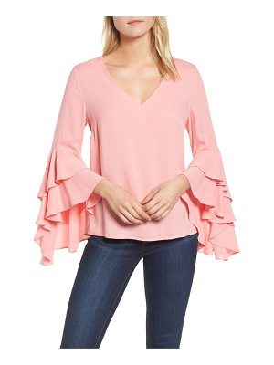 CHELSEA28 Bell Sleeve Top