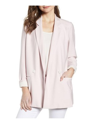 Chelsea28 double breasted boxy blazer