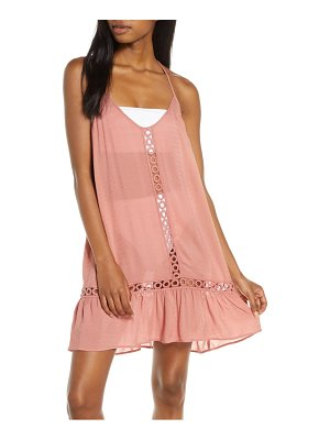 Chelsea28 emilee tassel cover-up dress