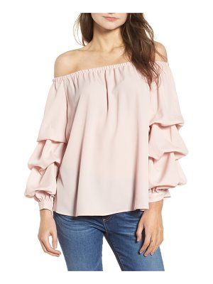 CHELSEA28 Off The Shoulder Top
