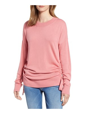 Chelsea28 ruched side sweater
