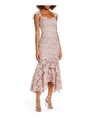 Chi Chi London ramona lace mermaid dress