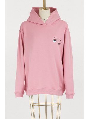 Chiara Ferragni Small Eyes cotton hoodie