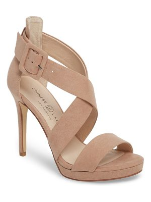 Chinese Laundry foxie cross strap sandal