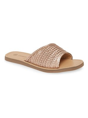 Chinese Laundry moonshine slide sandal