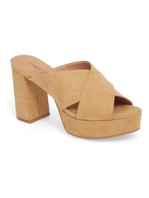 Chinese Laundry teagan cross strap platform sandal