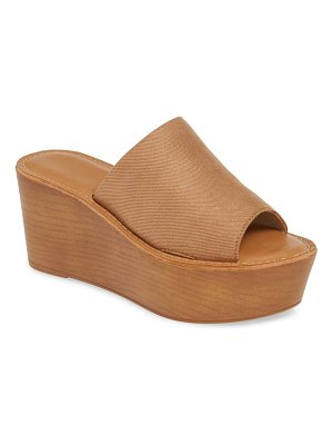 Chinese Laundry waverly platform wedge slide sandal