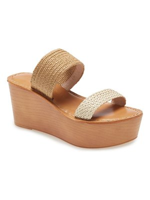Chinese Laundry wind wedge sandal