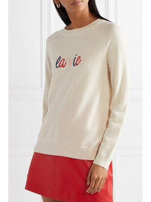 Chinti and Parker la vie intarsia cashmere sweater