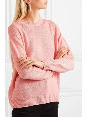 Chinti and Parker leonora color-block cashmere sweater