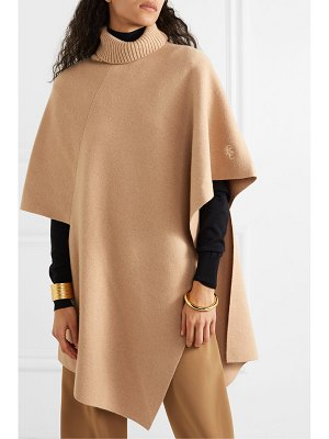 Chloe asymmetric cashmere turtleneck cape
