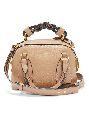 Chloe daria small grained-leather cross-body bag