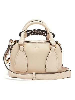 Chloe daria small leather top-handle bag