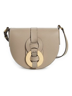 Chloe darryl leather crossbody saddle bag