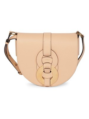 Chloe darryl leather saddle bag