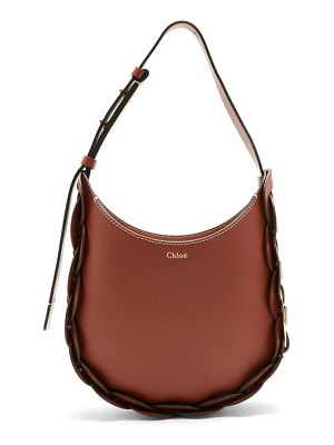 Chloe darryl small leather shoulder bag