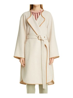 Chloe double face cashwool wrap coat