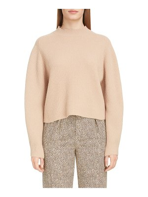Chloe exaggerated sleeve merino wool & cashmere sweater