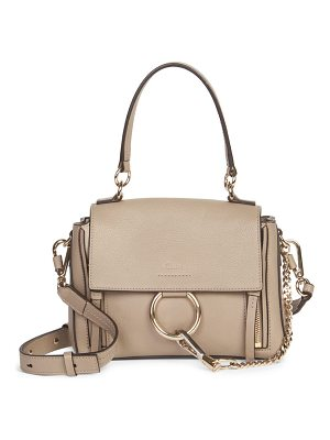 Chloe faye medium leather shoulder bag