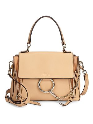 Chloe small faye leather bag