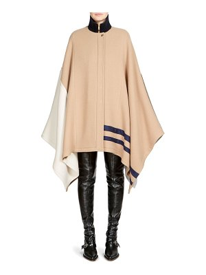 Chloe iconic cape coat