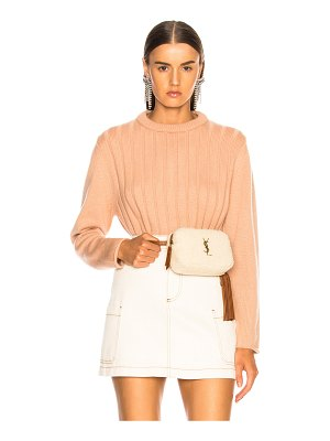 Chloe Iconic Cashmere Crewneck Sweater