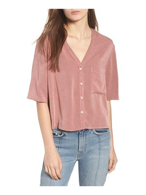 Chloe & Katie button down blouse