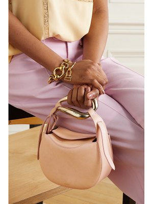 Chloe kiss small leather tote