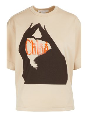 Chloe Limited edition - Logo T-shirt