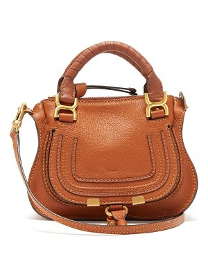 Chloe marcie mini grained leather bag