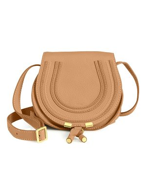Chloe mini marcie leather saddle bag