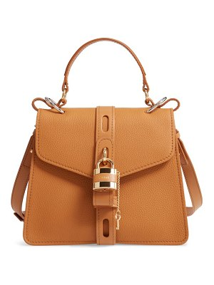 Chloe medium aby calfskin shoulder bag