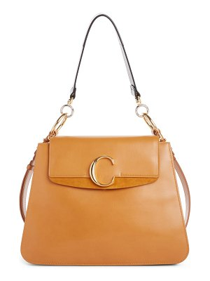 Chloe medium c leather shoulder bag