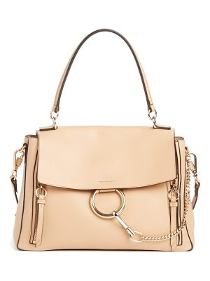 Chloe medium faye leather shoulder bag