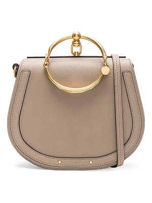 Chloe Medium Nile Suede & Calfskin Bracelet Bag
