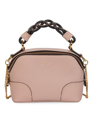 Chloe mini daria leather satchel