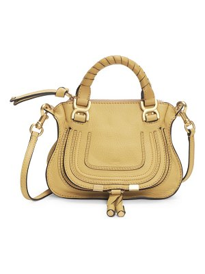 Chloe mini marcie leather satchel