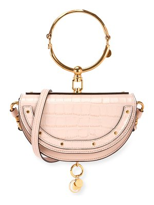 Chloe Nile Metallic Minaudiere Shoulder Bag