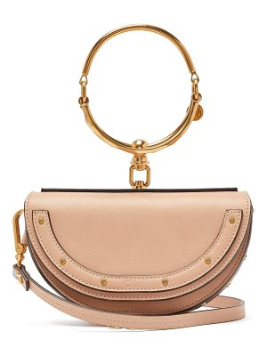 Chloe Nile Minaudiere leather bag