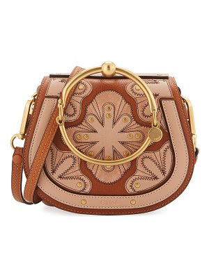 CHLOE Nile Small Floral Patchwork Bracelet Bag